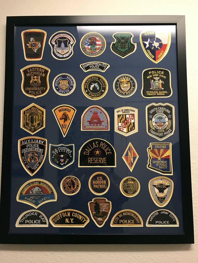 (Hali Bernstein Saylor/Boulder City Review) Friends of the Boulder City Police Department donat ...
