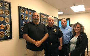(Hali Bernstein Saylor/Boulder City Review) Friends of the Boulder City Police Department recen ...