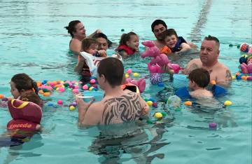 Children are invited to the Boulder City Pool for the annual Easter Pool Plunge, which will be ...