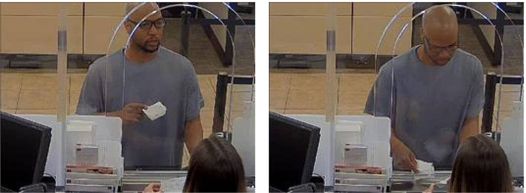 (Boulder City) This man attempted to rob the Wells Fargo Bank in Boulder City last week. Anyone ...
