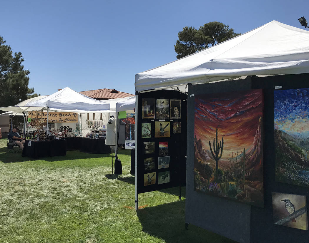 Boulder City Art Guild will present its 34th annual Spring Fine Art and Craft Show on April 13 ...
