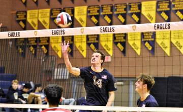 (Robert Vendettoli/Boulder City Review) Boulder City High School senior Karson Bailey, seen ris ...