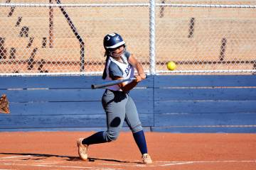 (Robert Vendettoli/Boulder City Review) Boulder City High School sophomore Brooke Baker, seen p ...