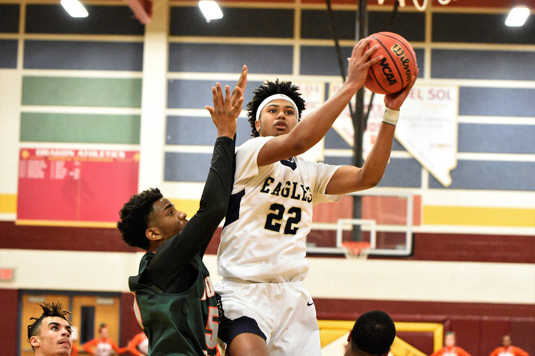 (Robert Vendettoli/Boulder City Review) Boulder City High School senior Derrick Thomas, seen sl ...