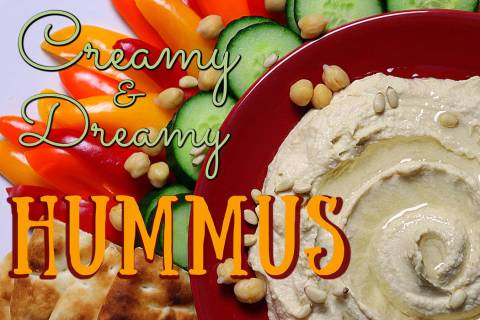 (Patti Diamond) A few ingredients is all it takes to make hummus at home.