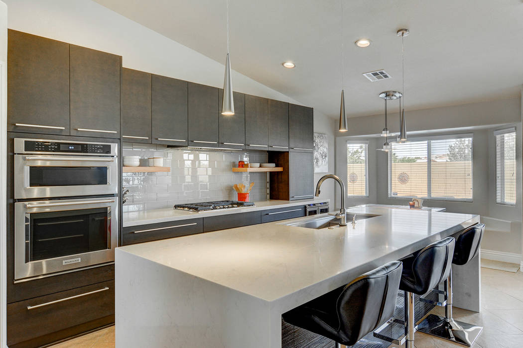 (Las Vegas Remodel & Construction) This kitchen was completed renovated by Las Vegas Remode ...
