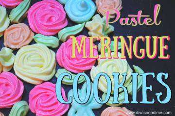 (Patti Diamond) Flavored gelatin gives meringue cookies a unique taste and color.