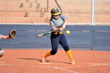 (Robert Vendettoli/Boulder City Review) Boulder City High School senior Marleena Mills, seen ge ...