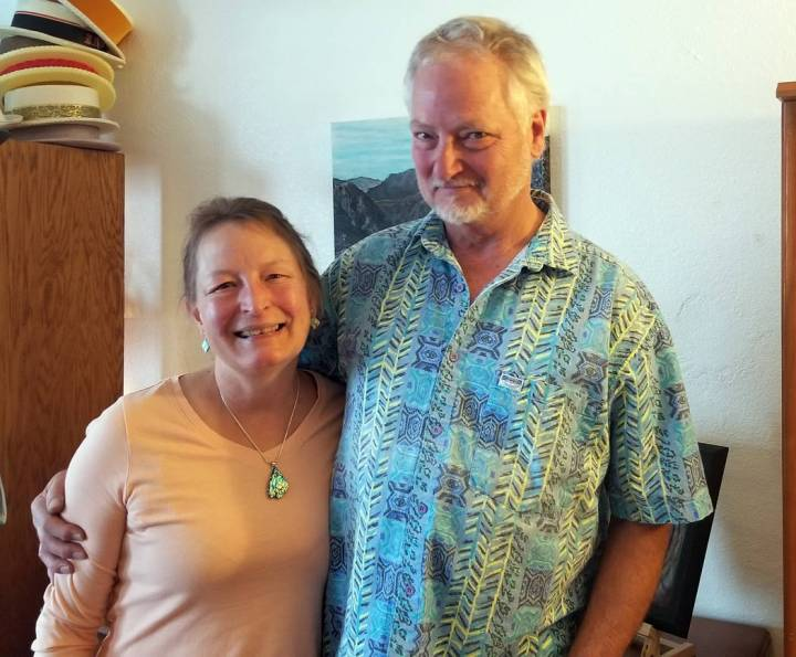 (Celia Shortt Goodyear/Boulder City Review) Darcy and Kevin Cory just opened Square 1 Gallery, ...
