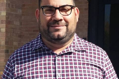 Raffi Festekjian, economic development coordinator for Boulder City, is holding economic develo ...