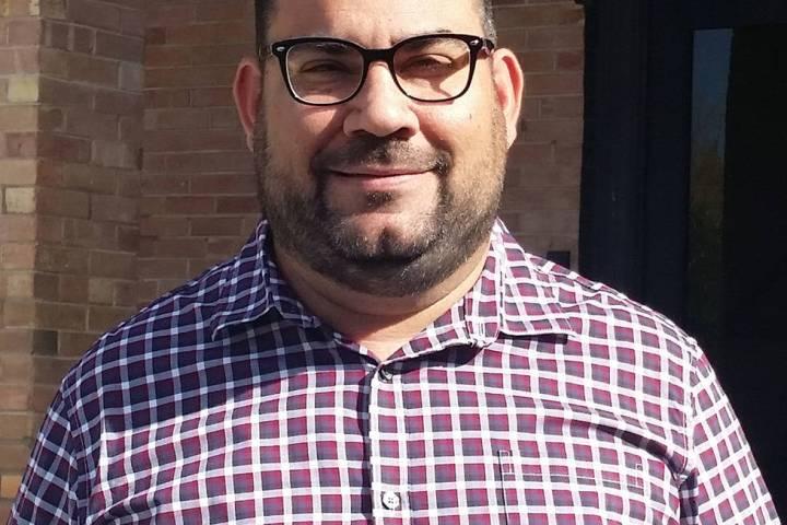 Raffi Festekjian, economic development coordinator for Boulder City, is holding economic develo ...
