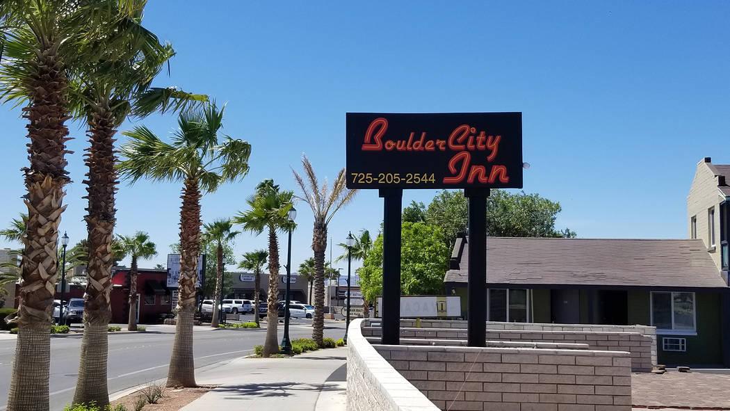 Celia Shortt Goodyear/Boulder City Review The Boulder City Inn, formerly Desert Inn, at 800 Nev ...