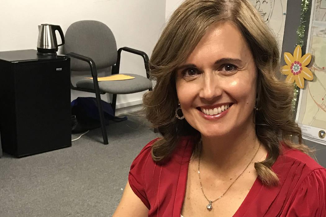 (Hali Bernstein Saylor/Boulder City Review) Angela Richman is opening Richman Reading Academy a ...