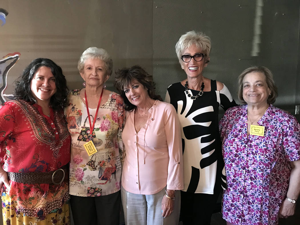 (Hali Bernstein Saylor/Boulder City Review) Boulder City Community Club installed its new offic ...