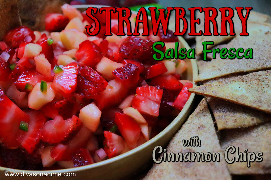 (Patti Diamond) Strawberries and apples make the base of this easy and festive fruit salsa.