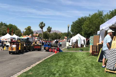 Activities for people of all ages including a train ride, food and craft vendors highlighted th ...