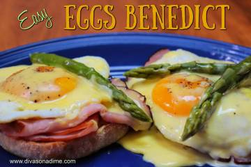 (Patti Diamond) Sliced deli ham, eggs cooked to order and a quick hollandaise sauce help make p ...