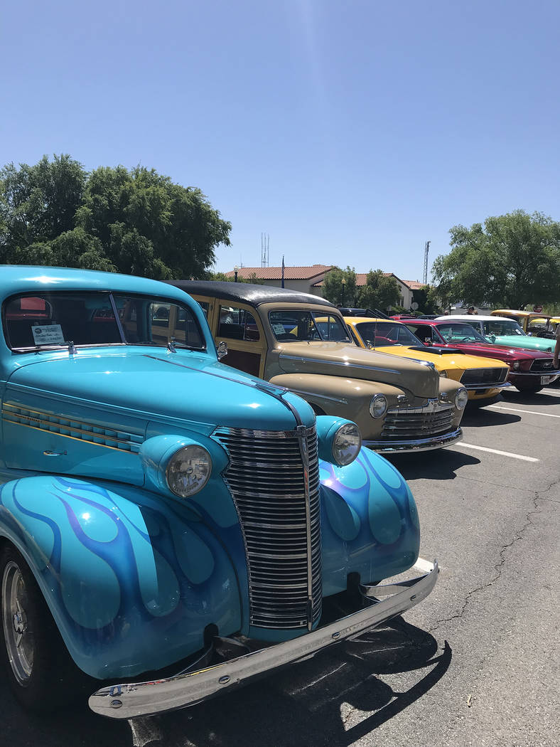 (Hali Bernstein Saylor/Boulder City Review) The Boulder City Rod Run, presented by the Pan Drag ...
