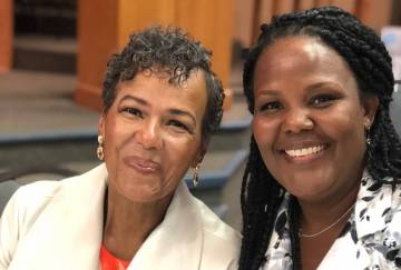 (Irene Lovelace) Irene Lovelace, left, and her daughter Alana Dowling have been foster moms to ...
