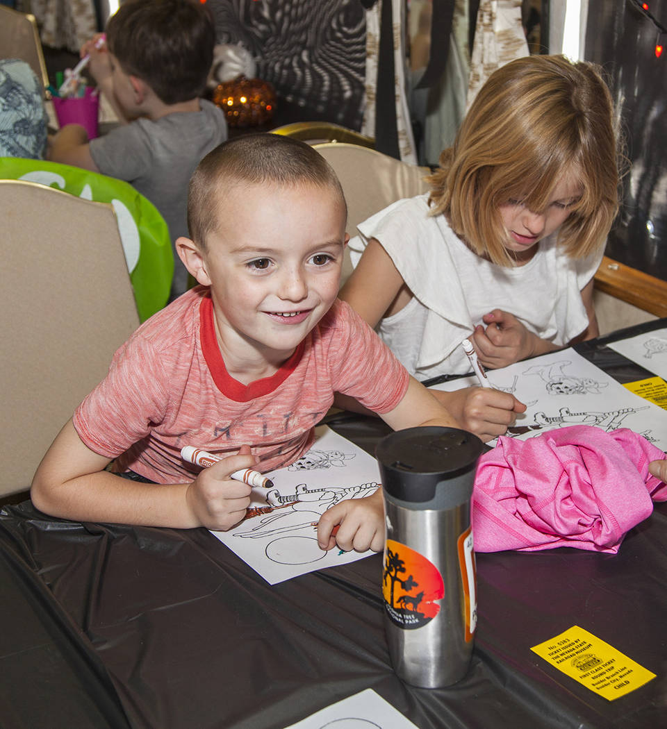 Nevada Southern Railway hosts story time trains on the third Saturday of each month at the Neva ...