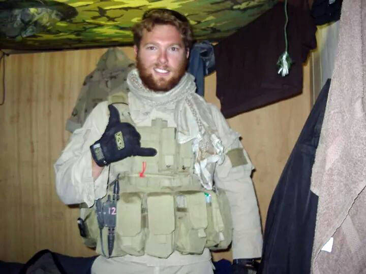 Shane Patton is one of two Boulder City Purple Heart recipients who Nevada Assemblyman Glen Lea ...