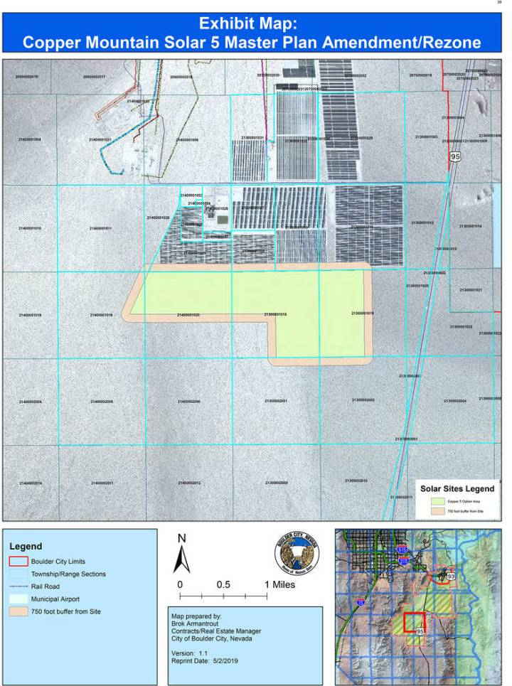 (Boulder City) The Planning Commission is recommending more than 1,000 acres of the Eldorado Va ...