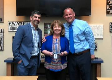 (Amy Wagner) Boulder City High School Principal Amy Wagner was named the 2018-2019 Nevada Secon ...