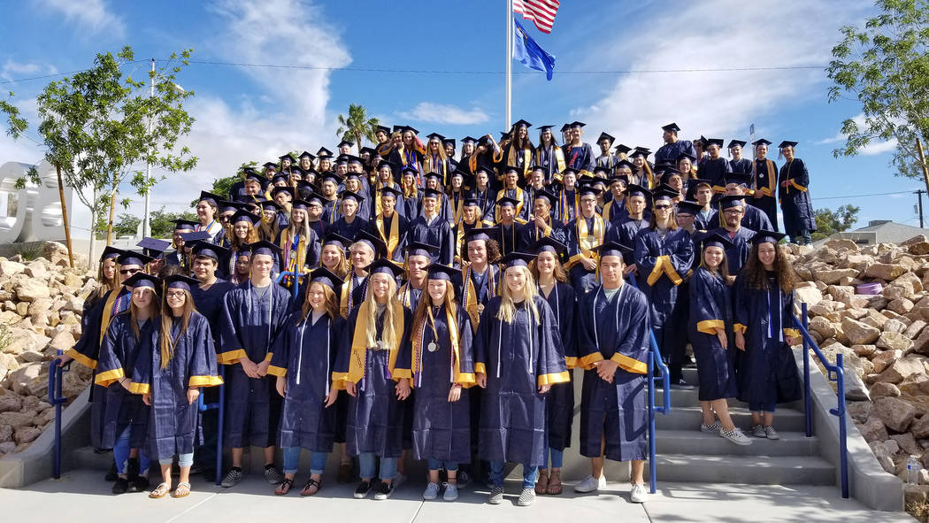 Celia Shortt Goodyear/Boulder City Review Tonight, 124 seniors will graduate from Boulder City ...