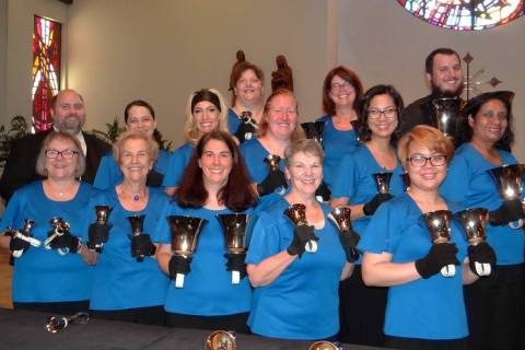 Boulder City's Harmony Handbells will perform songs from movies, musicials and books at 3 p.m. ...