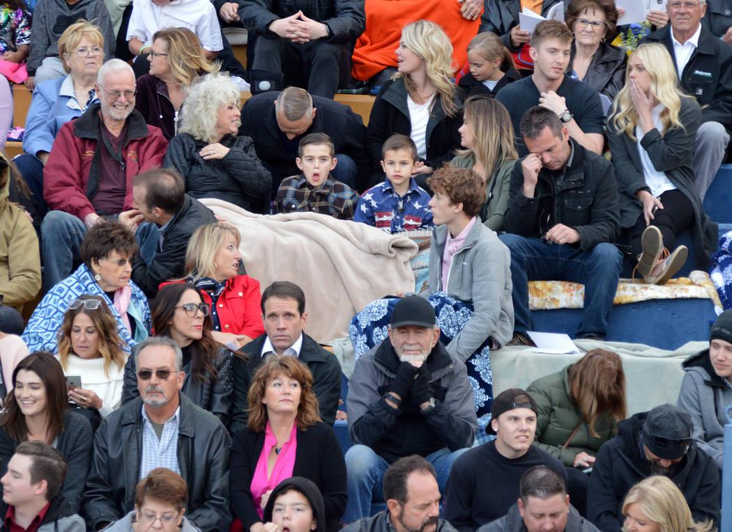 (Celia Shortt Goodyear/Boulder City Review) People attending Boulder City High School's 78th an ...
