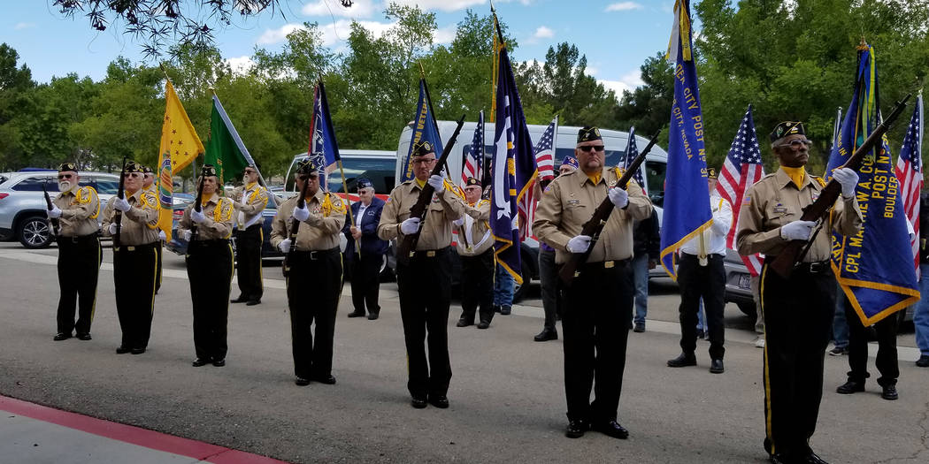 (Celia Shortt Goodyear/Boulder City Review) Disabled American Veterans, Black Mountain Chapter ...