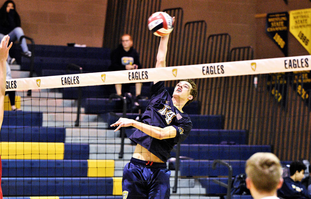 Boys Volleyball Five Earn Postseason Accolades Boulder City Review