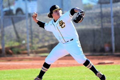 (Robert Vendettoli/Boulder City Review) Boulder City High School sophomore Blaze Trumble, seen ...