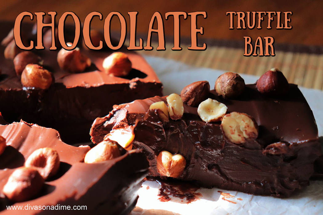 (Patti Diamond) With three ingredients, you can create chocolate truffles. You can create varia ...