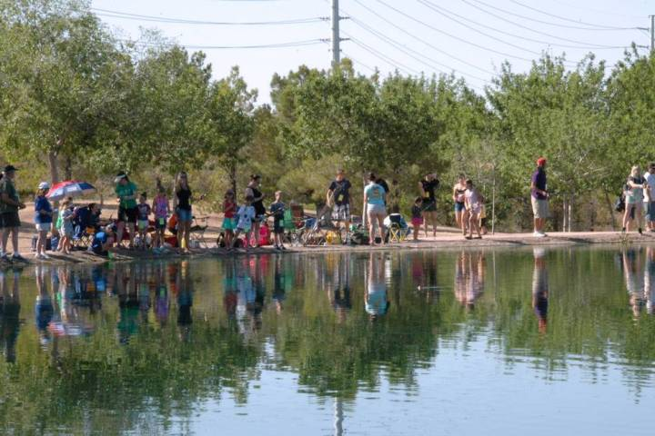 Families and amateur anglers are invited to Veterans' Memorial Park for Free Fishing Day on Sat ...