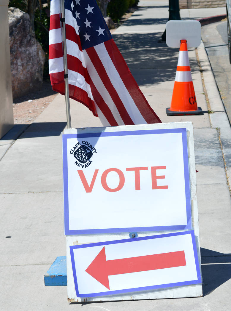 Boulder City's general municipal election is Tuesday, June 11.