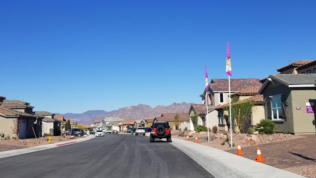 (Celia Shortt Goodyear/Boulder City Review) StoryBook Homes is planning to move foward with pur ...