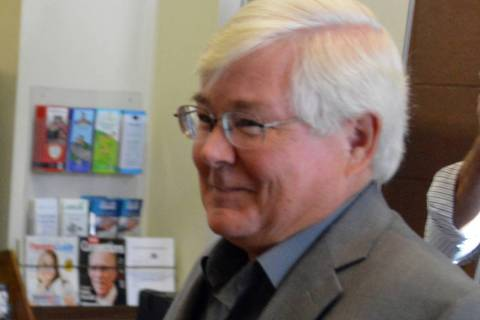 (Celia Shortt Goodyear/Boulder City Review) Councilman Kiernan McManus was elected mayor of Bou ...