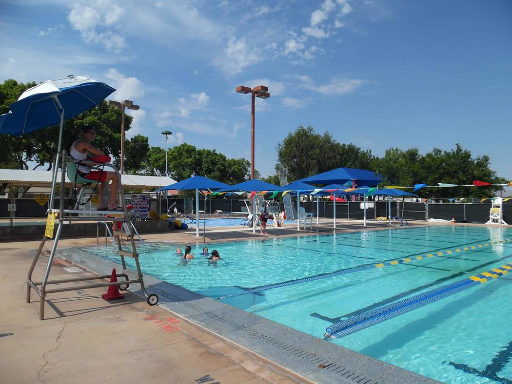 Residents are invited to participate in the World's Largest Swimming Lesson at noon on Thursday ...