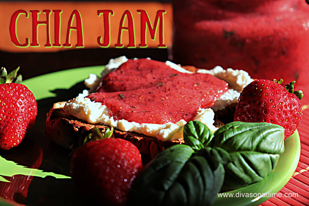 (Patti Diamond) Just blend fresh or frozen fruit with chia seeds to create jam.