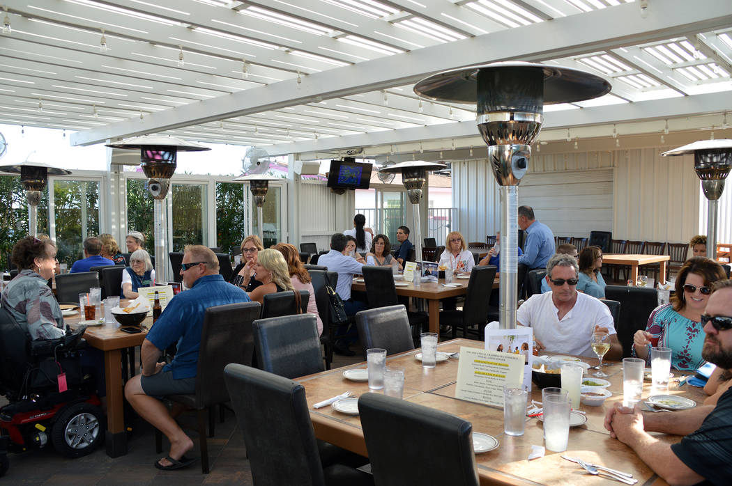 (Celia Shortt Goodyear/Boulder City Review) Chamber members and guests attend the 2019 chamber ...