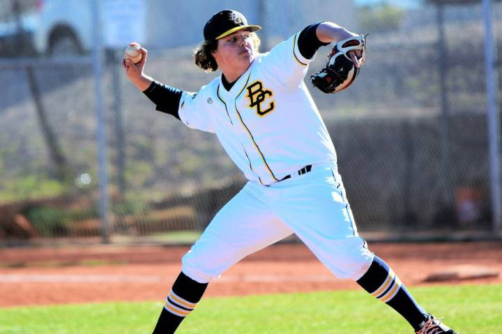 Boulder City High School sophomore Blaze Trumble was recently named to the Nevada all-state sec ...