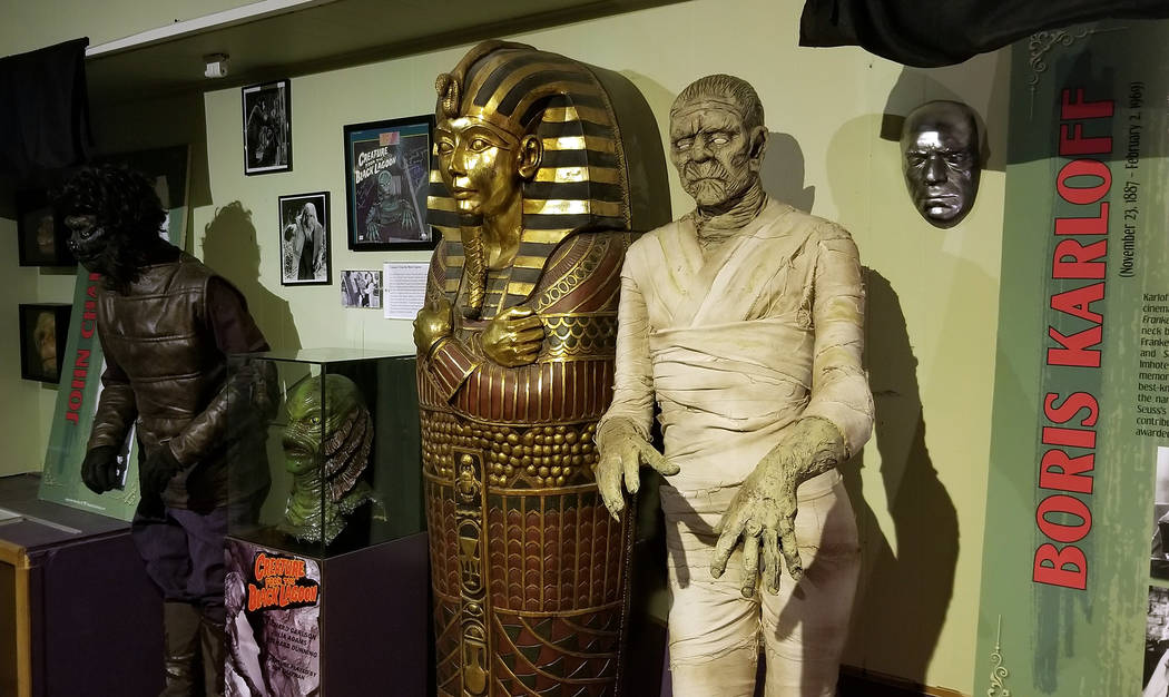 (Celia Shortt Goodyear/Boulder City Review) Tom Devlin's Monster Museum, 1310 Boulder City Park ...