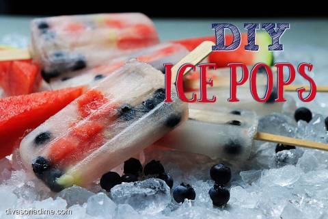 (Patti Diamond) One tasty way to beat the heat this summer is to make ice pops at home.
