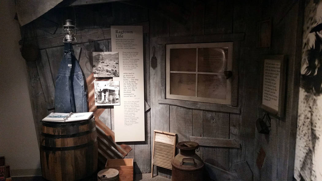 The Boulder City/Hoover Dam Museum inside the Boulder Dam Hotel features exhibits that tell the ...