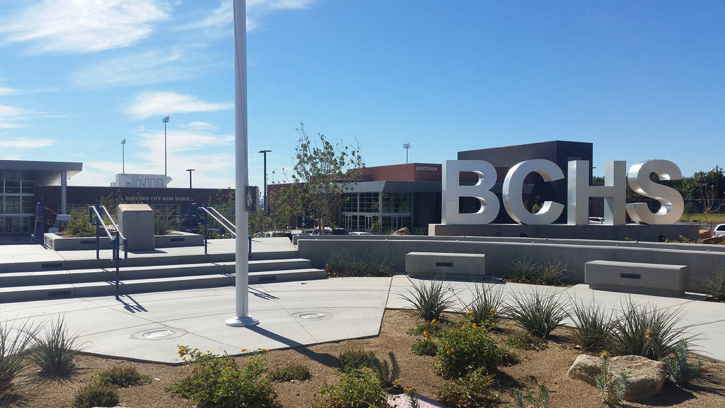 Boulder City High School's dean position was recently eliminated but it is getting a new admini ...