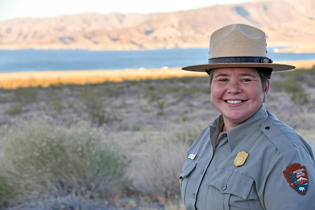 National Park Service Margaret Goodro is the new superintendent of Lake Mead National Recreatio ...