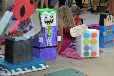 The 19th annual cardboard boat race at the pool takes place Wednesday, July 17, at the municipa ...