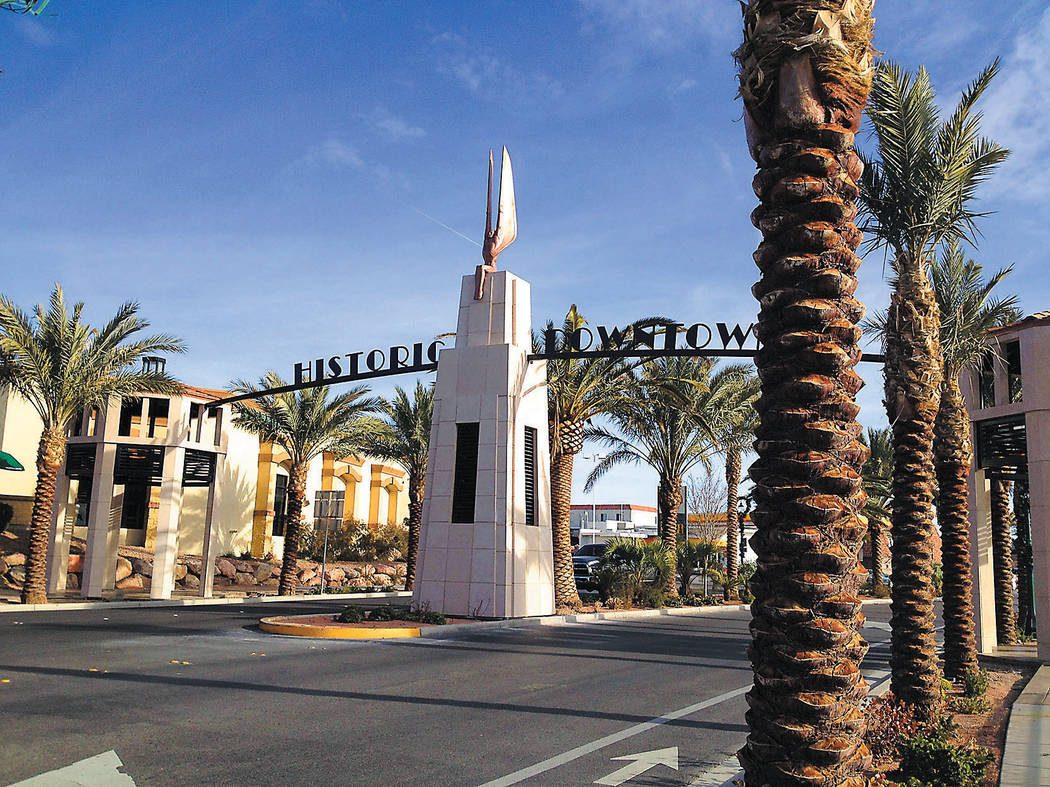 Boulder City is now a Certified Local Government, which allows it to access more grant money an ...