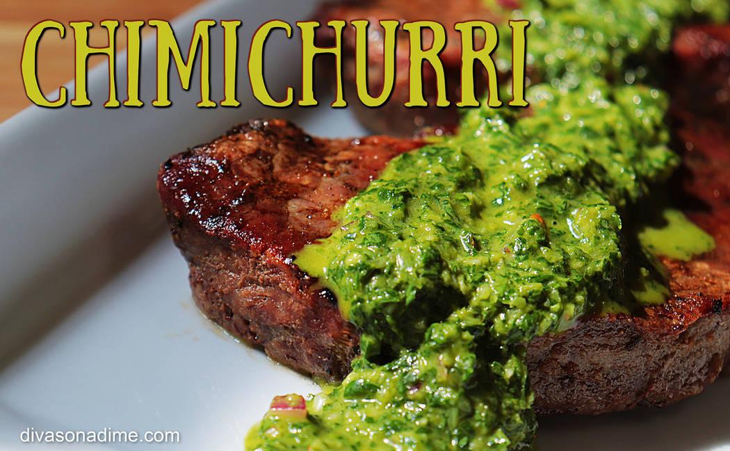 (Patti Diamond) Chimichurri combines the fresh tastes of summer herbs into versatile sauce that ...
